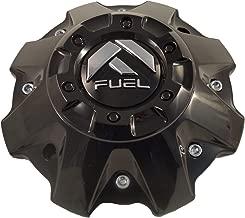 Fuel Wheels Black Gloss Custom Center Cap Set of One (1) # 1001-63B 5-6 LUGGER