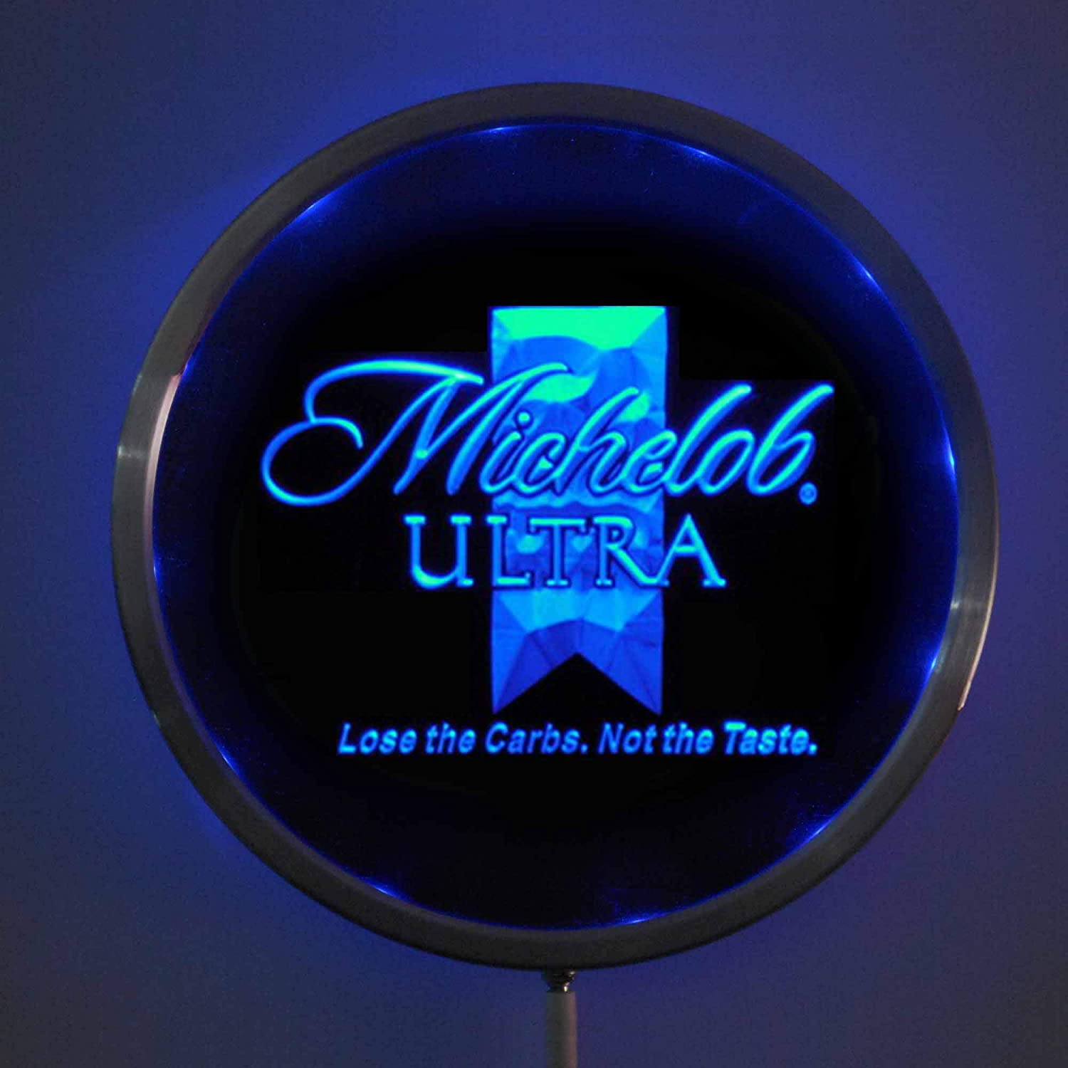 ZFRANC Michelob Ultra Ranking TOP19 Beer Popular popular 10 Inches LED Round Sign Neon Man Cav