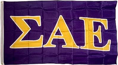 Sigma Alpha Epsilon Letter Fraternity Flag Greek Letter Use as a Banner 3 x 5 Feet Sign Decor SAE