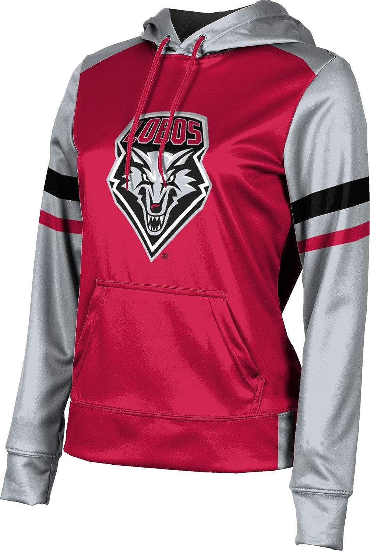 ProSphere University of New Mexico Girls' Pullover Hoodie, School Spirit Sweatshirt (Old School)