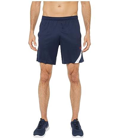 Nike Dry Academy Shorts NG KP (Obsidian/White/Laser Crimson) Men