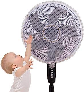 COTTILE Red de protección contra el Polvo del Ventilador Ventilador Base, Ventilador de Piso, Ventilador de Mesa, decoración de Ventilador de Pared