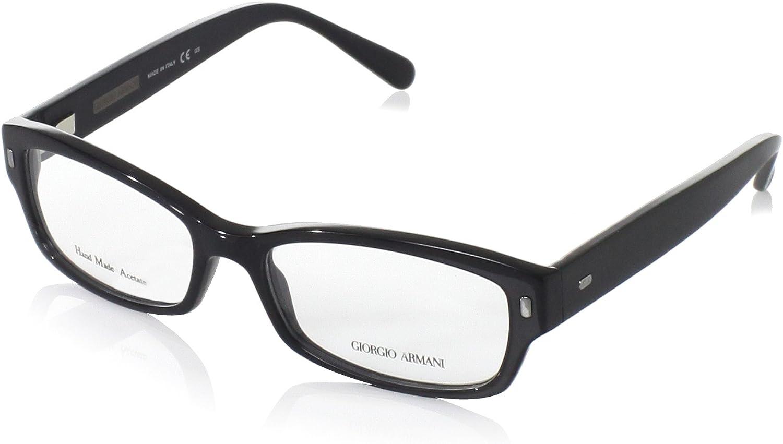 Giorgio Armani Women's GA890 Eyeglasses, Black, 5116135 mm
