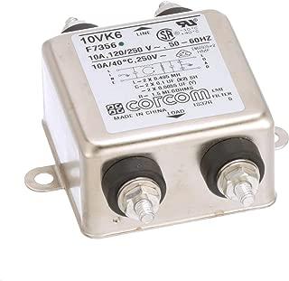 6A 5UA TE CONNECTIVITY//CORCOM 6EH1 RFI POWER LINE FILTER
