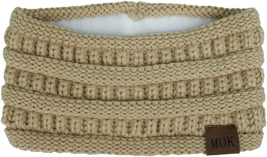 Digood Women Fashion Keep Warm Knitting Headband Handmade Sport Hairband,Cosplay Costume Party Hair Accessories