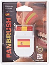 FanBrush Spain Flag Face Paint