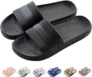 Chaussons Sandales Pantoufles d'été antidérapantes Hommes & Femme Salle de Bain Couples Chaussures de Plage décontractées