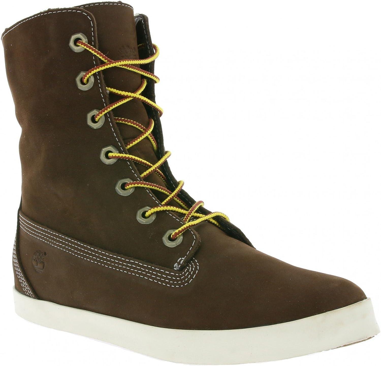 Timberland Earthkeeper Glastenbury Fleece Fold-Down Schuhe Damen Stiefel Winterstiefel Braun 8646A  | Schön In Der Farbe