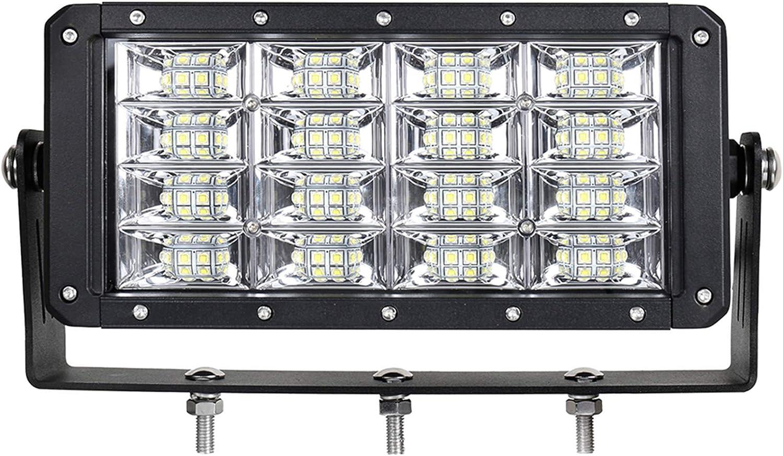 Super Brillante 9 Pulgadas 320W Inundación Del Trabajo Del LED Luz Para El Carro Excavadora Niveladora Harvester 12V 24V
