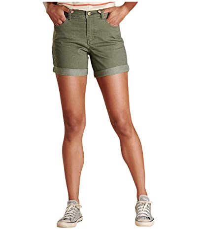 Toad&Co Sequoia 5 Shorts (Beetle Vintage Wash) Women