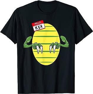 My Name Is Rex T-Rex Halloween Costume Shirt Dinosaur