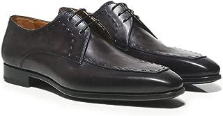 Magnanni Men's Leather Norden Derby Shoes Grey