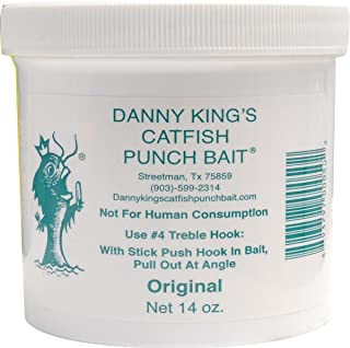 Danny King Catfish Punch Bait, 14-Ounce