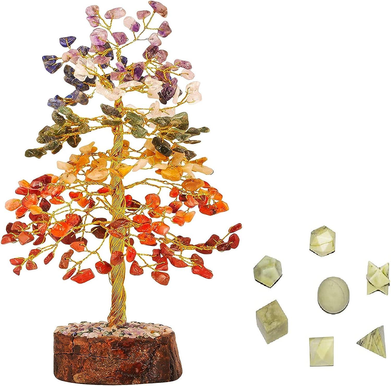 Ranking TOP7 PYOR 7 Chakra Feng Shui Tree Natural St Sacred Healing Gemstones It is very popular