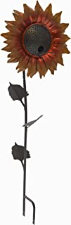 Desert Steel Velvet Queen Sunflower Bird Feeder – Metal Yard Art/Bird Seedfeeder