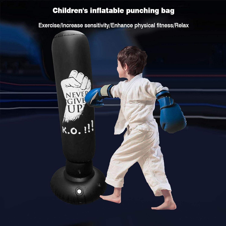 Standboxsack F/ür Kinder Erwachsene Boxsack Stehend Onlyonehere 63 Inches Boxsack Standboxsack Aufblasbare Boxs/äule F/ür Kinder Und Erwachsene Zum /Üben Von Karate Taekwondo