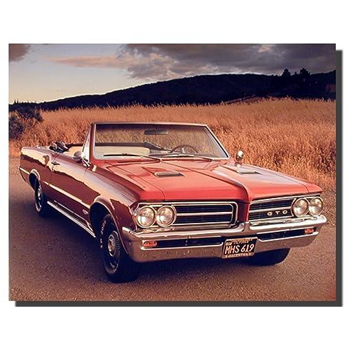 1967 67 Pontiac Tempest Gto Lemans Full Color Laminated Wiring Diagram 11 X 17