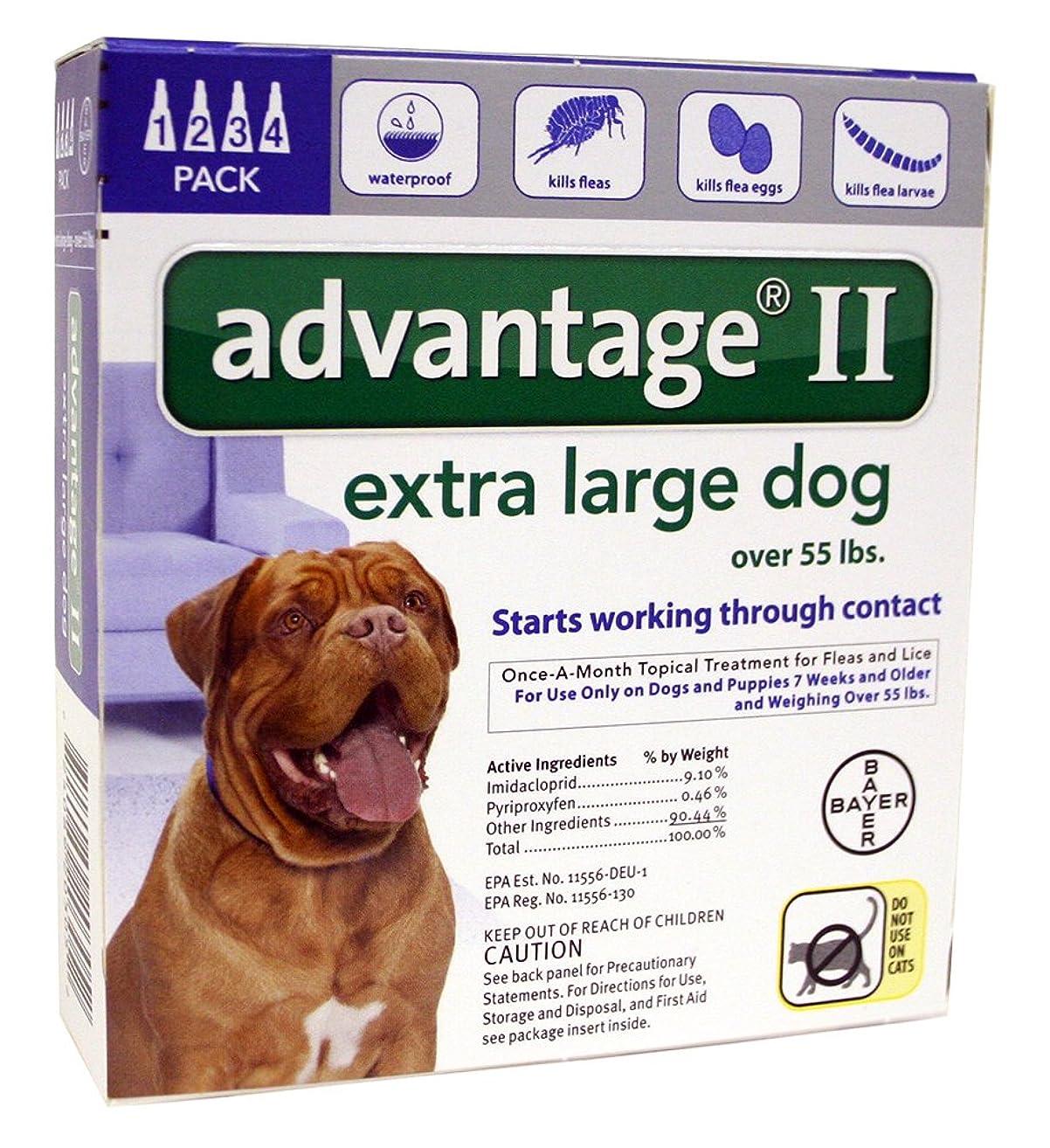 PSL Advantage II (Bl) Dog (55+) 4 month- new label