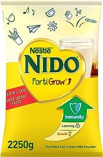 Nestlé NIDO fortified Full Cream Milk Powder Pouch, FortiGrow, 2.25 kg
