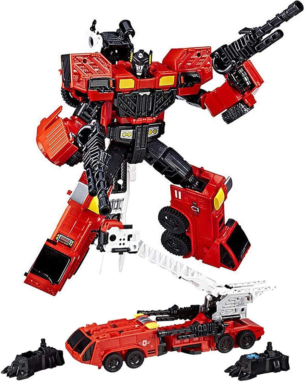 Deformiertes RoboterSpielzeug, KampfroboterModell, FeuerwehrautoSpielzeug  perfektes Geschenk für Kinder Weihnachten, Kindertag