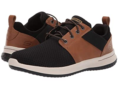 SKECHERS Delson Brant (Brown/Black) Men