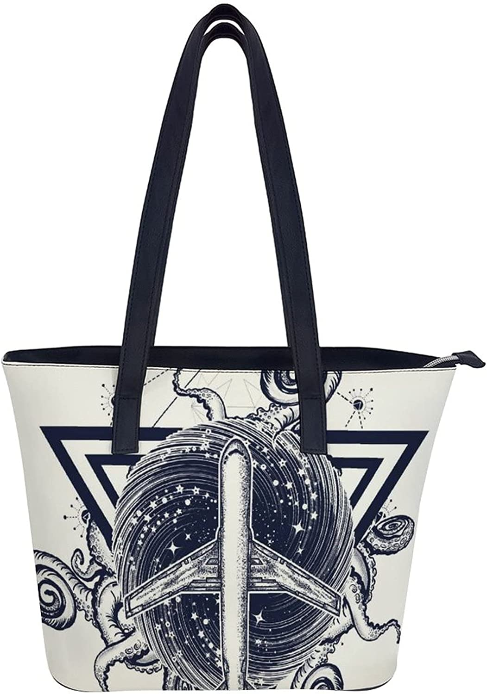 Handbags 25% OFF for Quality inspection Women Shoulder Bags Satchel Tote Stone Skull Black