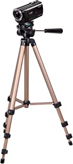 DURAGADGET Camera Tripod with Extendable Legs and Ball-Tilt Head in Black /& Gold Suitable for The Panasonic Lumix G DC-GX800//Lumix GX850 Camera