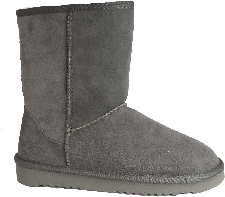 Eastern Counties Leather Womens Ladies Jodie Sheepskin Short Plain Boots
