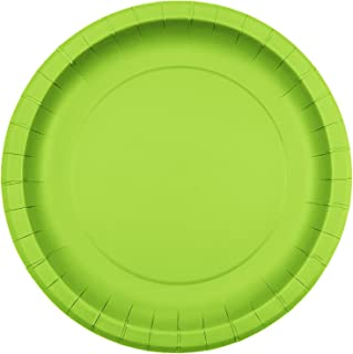 Jubilee 9-inch Paper Plates, 40 Count, Lime