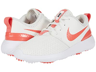 Nike Golf Roshe G (Little Kid/Big Kid) (Sail/Magic Ember/White News Print) Men