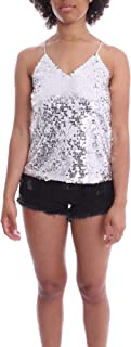 Luxury Fashion | J'aimè Women 9731JARGENTO Silver Polyester Top | Spring-summer 20