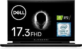 Dell ゲーミングノートパソコン ALIENWARE 17 m17 Core i7 RTX 2060 シルバーホワイト 20Q22L/Win10Pro/17.3FHD/16GB/512GB SSD