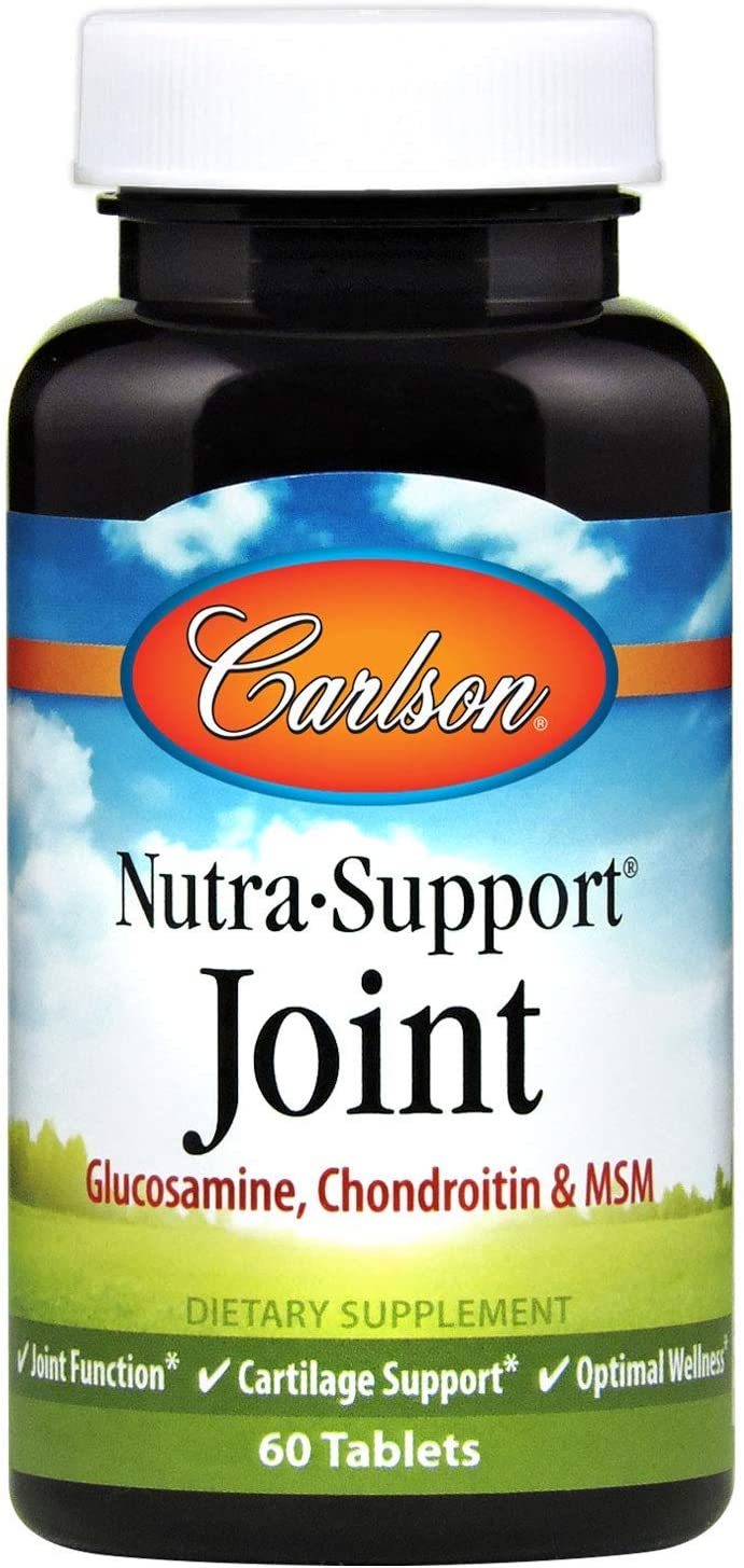 Carlson New color - Nutra-Support Joint Max 88% OFF MSM Chondroitin Glucosamine Jo