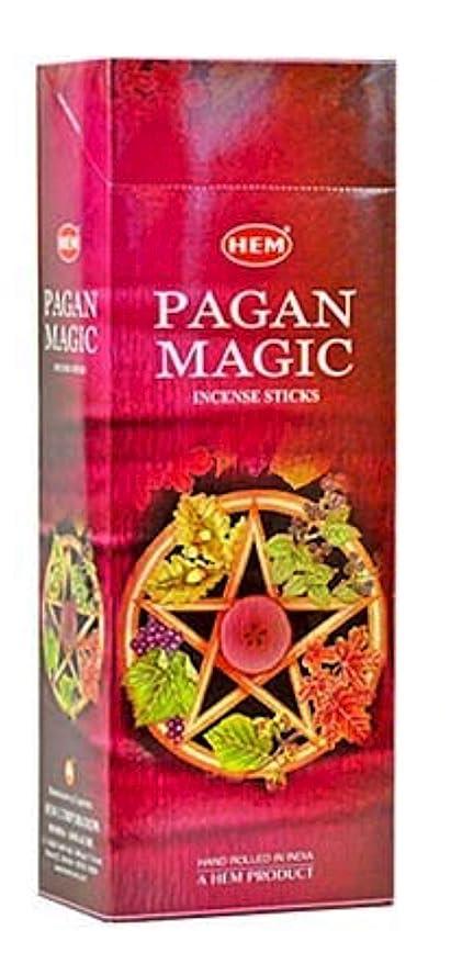 爆発許可歩き回るHEM(ヘム)社 パガンマジック香 スティック PAGAN MAGIC 6箱セット