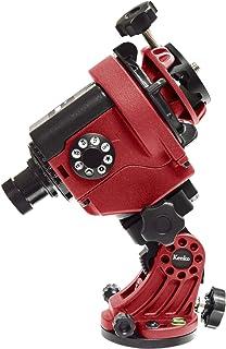 Kenko ポータブル赤道儀 スカイメモS + スカイメモS用微動雲台セット レッド