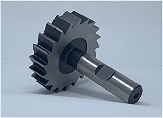 7//32 Width of Face Straight Tooth High Speed Steel 7//8 Diameter F/&D Tool Company 12320 Shank Type Woodruff Keyseat Cutter