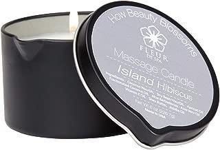 fleur de spa Massage Candle Island Hibiscus Fragrance
