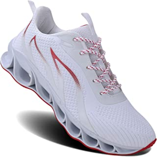 Men Athletic Shoes Mesh Blade Running Walking Sneaker