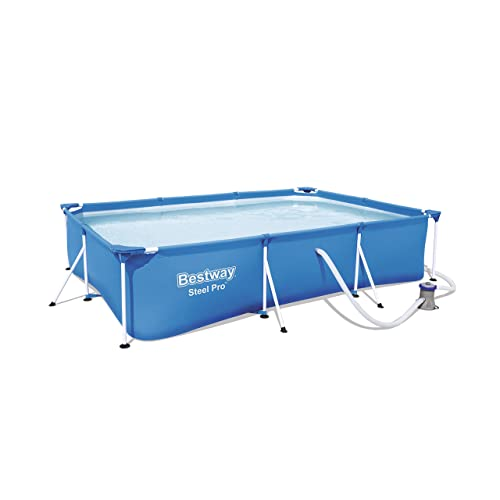 Bestway 56411 - Piscina Desmontable Tubular Infantil Bestway Deluxe Splash Frame Pool (300 x 201