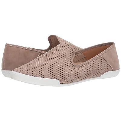 Tahari T Tahari Bellona Perforated Slip-On Sneaker (Stone Nubuck) Women
