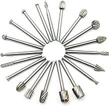 mit Diamant beschichtet Hakkin Schleifk/öpfe 10 St/ück passend f/ür Werkzeuge vom Dremel-Typ 3/mm Schaft