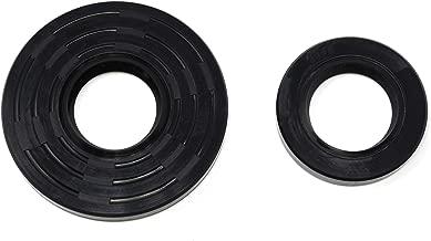 JSP Manufacturing Replacement for Yamaha G1 G3 2-Cycle Gas Golf Cart 1979-89 Crankshaft Crank Shaft Oil Seal Kits Replaces OEM Part # 93102-30128, 93102-30188