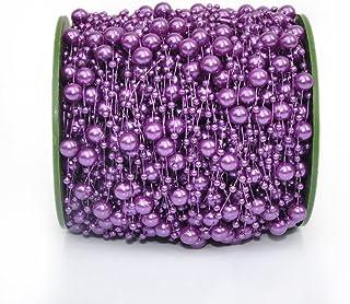 Zhi Jin Rouleau DIY perles bricolage, chaîne, corde, ligne de pêche pour création de bijoux, guirlande mariage, perles, fi...