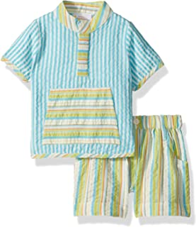 Masala Baby Baby Boys Ollie 2pc Set Stripe