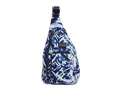 Vera Bradley ReActive Mini Sling Backpack (Island Tie-Dye) Backpack Bags