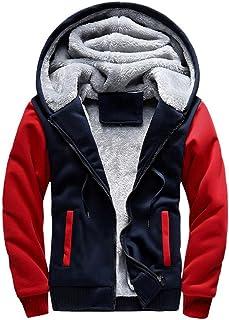 60dd3bb8584 Amiley Hot sale Christmas Men s Pullover Winter Jackets Hooed Fleece Hoodies  Sweatshirt Wool Warm Thick Coats