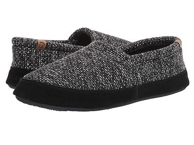 Acorn Acorn Moc (Black Tweed) Men