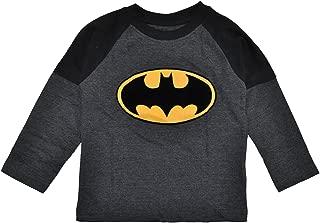 Superman Vs Batman Little Boys L/S Logo Top
