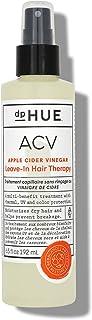 dpHUE Apple Cider Vinegar Leave-In Hair Therapy, 6.5 oz - Lightweight Leave In Primer Spray & Hair Detangler - Argan & Mac...