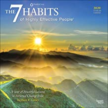 The 7 Habits of Highly Effective People 2020 12 x 12 Inch Monthly Square Wall Calendar, Self Help Improvement
